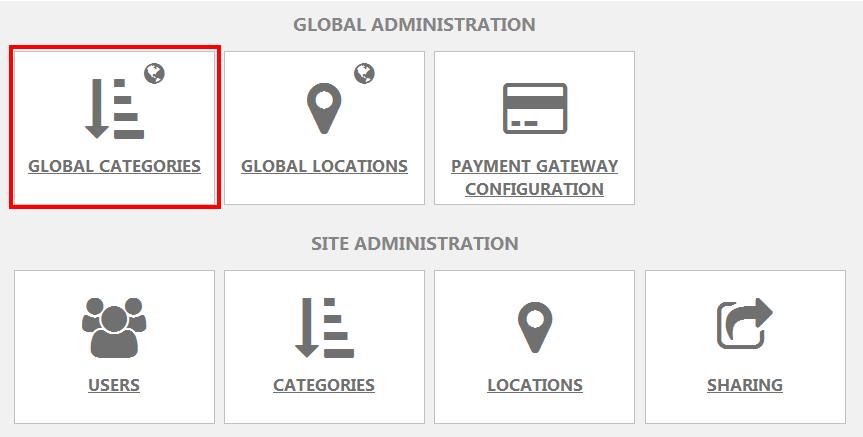SiteSettings Global Categories Icon