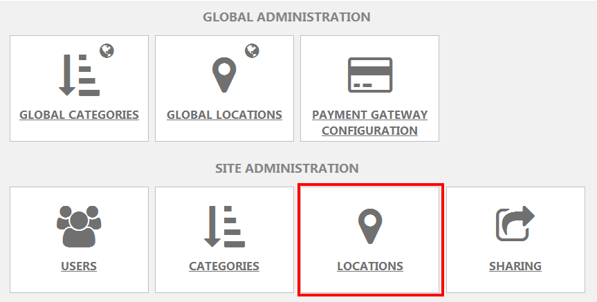 SiteSettings Locations Icon
