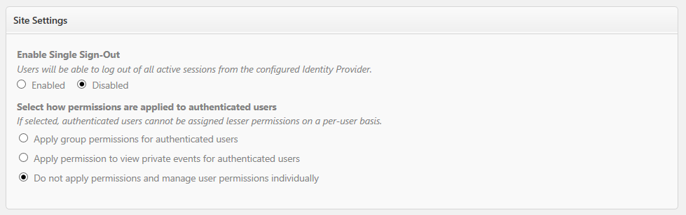 Image of Site Permissions